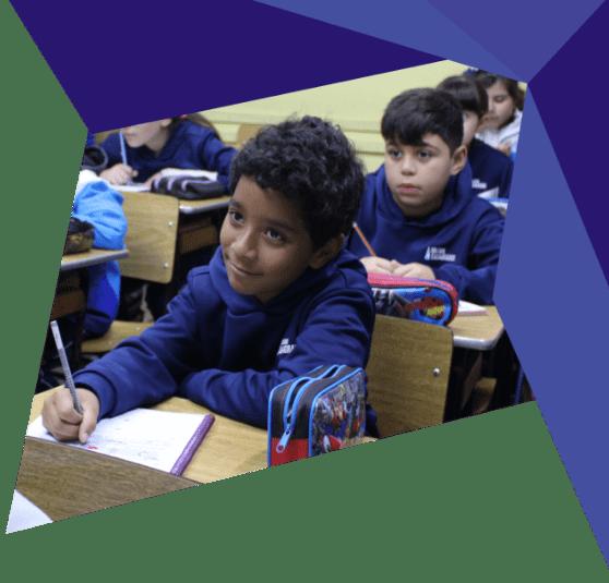 Ensino Fundamental I no Colégio Casagrande